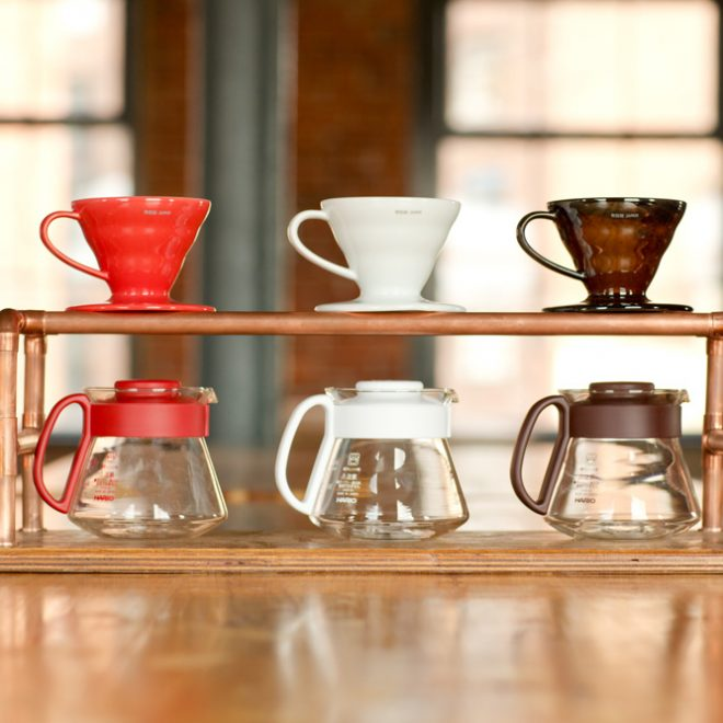 Hario V60 Ceramic Dipper And Pot Set North Star Roasters